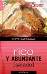 Libro RICO Y ABUNDANTE (SALADO)