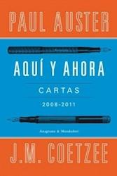 Libro AQUI Y AHORA (CARTAS 2008-2011)