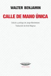 Libro Calle De Mano Unica