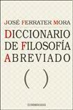 Libro DICCIONARIO DE FILOSOFIA ABREVIADO