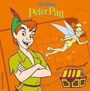 Libro PETER PAN CON ROMPECABEZAS