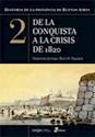 HISTORIA DE LA PROVINCIA DE BUENOS AIRES 2 DE LA CONQUI  STA A LA CRISIS DE 1820 (RUSTICO)