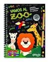 Libro VAMOS AL ZOO (RASPA DESCUBRE Y DIBUJA) (CARTONE)