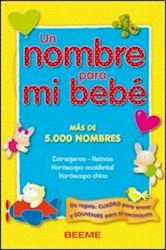 Libro UN NOMBRE PARA MI BEBE (5000 HOMBRES)
