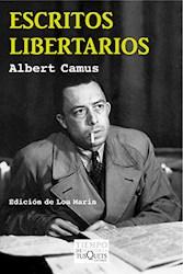 Libro Escritos Libertarios (Camus)
