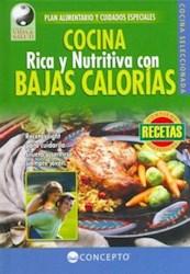 Libro COCINA RICA Y NUTRITIVA CON BAJAS CALORIAS