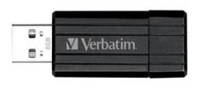 Pen Drive Verba  8Gb Pinstripe Negro 49062