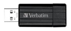 Pen Drive Verba 16Gb Pinstripe Negro 49063